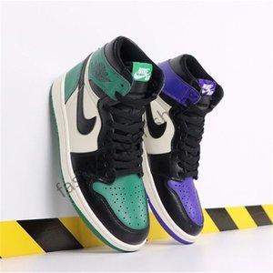 2020 New High nike air jordan 1 OG MID X Travis Scotts Basketball Shoes Turbo Green Origin Story Gs Banned NRG Rebel XX Union Retros 1s Unc White Blue Shoes
