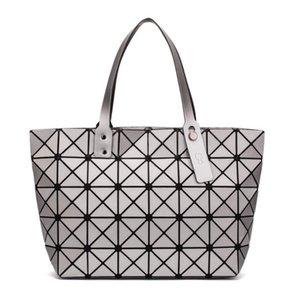 2019 новая мода световой мешок bao сумка Алмазный тотализатор геометрические стеганые сумки на ремне лазерные простые складные сумки bolso