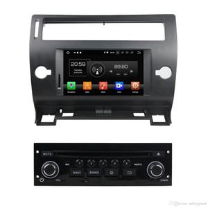 """1024 * 600 안드로이드 8.0 옥타 코어 7 """"자동차 DVD 라디오 GPS에 대한 시트로엥 C4 2005 년 2006 년 2007 년 2008 년 2009 년 2010 2011 4기가바이트 RAM 블루투스 와이파이의 USB 32 기가 바이트 ROM"""