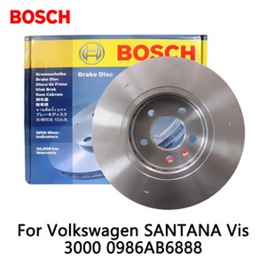 2pieces / jeu de disques de frein avant voiture pour SANTANA Vis 3000 0986AB6888