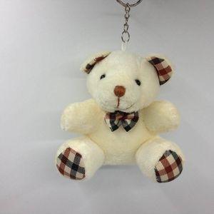 10CM Teddybär mit Schale Plüsch-Puppen Puppe Schlüsselanhänger Baby-Geschenk-Mädchen-Spielwaren Hochzeit Wurf- und Geburtstags-Party-Dekoration von amazzz