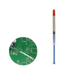 500pcs 0,2 мл Silver Проводящая проволока клей пастообразный клей краска Ремонт PCB Применение