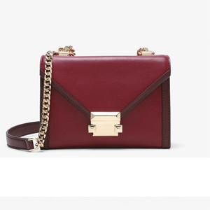 Конвертная сумка-раскладушка - недавно разработанный роскошный коровьей лоскутной сумки на одно плечо с цепочкой