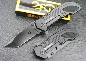 Browning 123B multi-function survival Folding Knife Knives Outdoor Camping Hunting Pocket Gift Knife Xmas gift knife Adfaca for man 1pcs