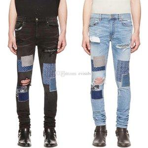 Brand New Mens Designer Jeans Luxury Jeans Men Women Distressed Zipper Ripped Denim Pants Mens Designer Pants Size 29-42