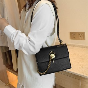 Texture Bag For Women 2020 New Foreign Style Joker Slung Shoulder Bag Fashion Casual Chain
