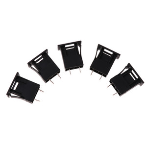 5x 32V CQ-211P Car Boat Truck Blade Standard Middle Fuse Holder Box Housing Black