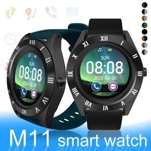 M11 Smart Watch Large Round Screen Smartwatches SIM Card Slot Smart Bracelete Fitness Bluetooth Sports Watch Sleep Monitor Com Caixa