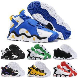 Nike Air Barrage Mid  de calidad superior de baloncesto del Mens Presa medio QS Negro HyperGrape mujeres entrenadores deportivos zapatillas de deporte xiaoyatou2290 CD9329-001
