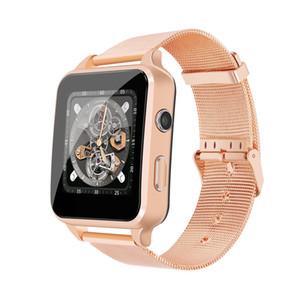 Los teléfonos inteligentes reloj X8 Con la tarjeta SIM de la cámara del monitor del podómetro del sueño X7 Bluetooth Smartwatches para Android iOS PK IWO