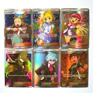 Takara Tomy 100pcs / set Pokemon Trainer Spielzeug Hobbies Hobby Collectibles Game Collection Anime-Karten-Geschenk-Karten für Kinder Weihnachtsgeschenk