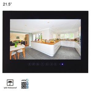 21.5 인치 블랙 욕실 방수 LED TV 호텔 SPA 살롱 방수 샤워 1080P 텔레비전