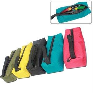 Oxford Bezi Küçük Aracı Çanta Profesyonel Elektrikçiler Organizatör Taşınabilir Çok Fonksiyonlu Su geçirmez Fermuar Depolama Alet çantası