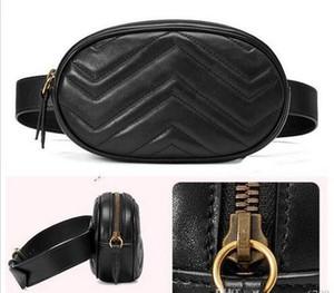 Leather nuovo modo dell'unità di elaborazione Donne Borse Fanny Pack Famous Mezzo Borse colori bag4 borsa della signora fascia toracica borsa Crossbody Top Quality