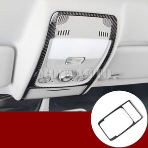 Para Audi A5 S5 fibra de carbono frontal interior lectura Recorte Claro Cubre 2008-2016 1pcs