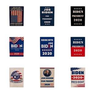Biden 2020 Flag Sticker Set Donald Presidente Corpo de carro adesivos Mantenha a tornar a América Grande Partido Home Decor bandeira 5111 # 989