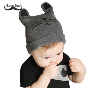 2019 Baby Hat Winter Hats Children's Hat For Boy Girls Cotton Beanie Cap Toddler Infant Baby Knitted Bonnet 0-12M Bones Infantis