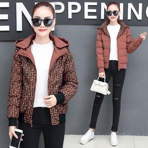 Designer women's jacket new cotton coat women's short cotton coat fashion bread coat double-sided wear warm cotton jacket women size M-4XL