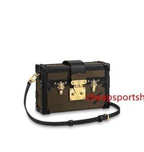 2020 M53828 Petite Malle Mulheres Bolsas Iconic Bolsas Top Alças Shoulder Bags Totes Corpo Cruz Bag Evening Embreagens