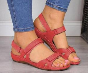 Wedges Shoes For Women Sandals Plus Size High Heels Summer Shoes 2020 Flip Flop Chaussures Femme Platform Sandals women big yards of shoes