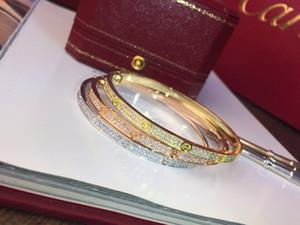 Pulseira feminina Gypsophila em ouro rosa e ouro branco pulseira de 2 cores High-end Custom Designer de moda Pulseira de festa
