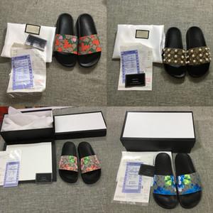 Tasarımcı Ayakkabı Slaytlar Yaz Plaj Kapalı Tasarımcı Sandalet Ev Tasarımcı Ayaklı Çiftler Terlik Flops