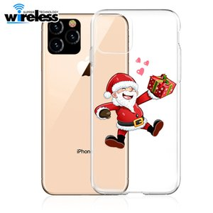 Case for Iphone 6s Soft Clear TPU Back Cover for X XS Max XR Christmas Phone Case for Iphone 7 8 Plus 11 Pro max