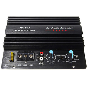 Aiyima 12V 600W Subwoofer Amplifier Mono Car Amplifier Speaker Audio Amp Music Vehicle Subwoofer Car Electronics Accessories