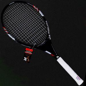Rackets Proffisional Type de technique carbone en alliage d'aluminium Tennis Rackets Raqueta Tenis Racket Racchetta Tennisracket Tennis Racquet