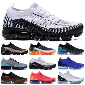 nike air max flyknite Uomo Donna maglia 1.0 Running Shoes volano 2.0 Triple Nero BHM oro metallizzato lupo grigio bianco a piedi Sneakers Fashion Designer