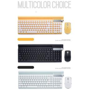 OMESHIN 2.4G Wireless Rechargeable USB-Multimedia-Gaming Mute Tastatur-Maus Neue Wireless-Gaming-Tastatur-Maus für USB-Empfänger