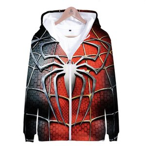 Marvel filme SpiderMan regresso a casa Peter Parker Cosplay Full Zip Pullover Hoodies Homens capuz manga comprida SpiderMan Jacket