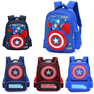 Hot L'Avengers3: Infinite War bag bambini zaini scuola bookbags Marvel Capitan America Spiderman Bambini PVC Borsetta