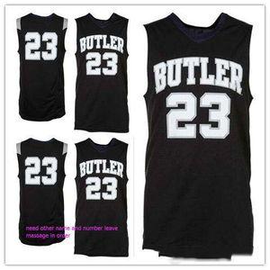 por encargo # 23 de Butler Bulldogs las mujeres del hombre camisetas de baloncesto juvenil número de tamaño S-5XL 4XL cualquier nombre 6XL
