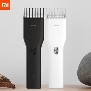 en Stock Xiaomi Enchen USB Boost eléctrica cortadora de cabello de dos velocidades de cerámica del pelo Cortador de carga rápida pelo Trimmer niños
