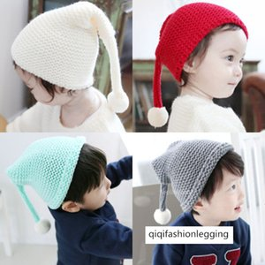 1-2-year-old baby girl knitted hat season baby woolen hat 6-12-year-old baby girl hat winter
