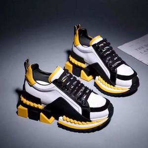 nuevosDolce & Gabbana DG  calzados informales de la zapatilla de deporte de Formadores Moda calzado deportivo zapatos de Formadores mejor calidad para unisex xiaoyatou2290 D3507
