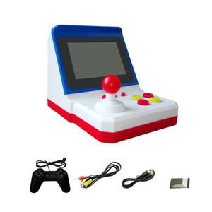 وحدة ألعاب محمولة يمكن تخزين 600 ألعاب Retro Mini Arcade Handheld Rocker Game Console 8BIT Arcade FC ألعاب الفيديو مع 1 gamepad