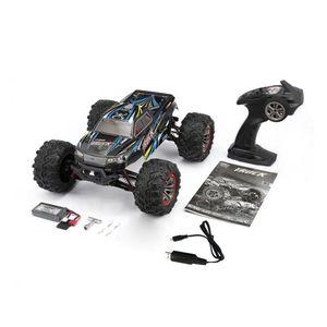 고품질 9125 4WD1/10 고속 46km/h 전기 초음파 트럭 떨어져 도로 차량 버기 RC 경주용 차 전자 장난감 RTR Y200413