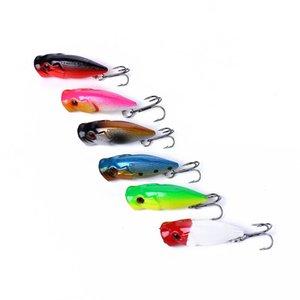 Mini Popper atraer a la pesca 3.5cm / 2.7g 3d Pesca cebos Ojos Top Water trastos