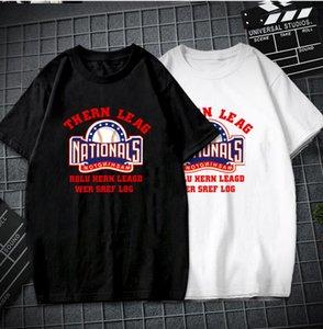 Luxury Designer T Shirt Summer T Shirt Mens Designer T Shirt Hip Hop Men Women Black white blue Short Sleeve Tees Size S-5XL