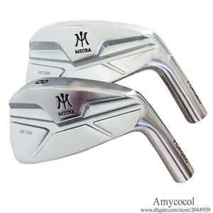 Erkekler Yeni Golf Kulübü başkanı MIURA MC-501 Golf ütü 4-9 P Irons Seti Hayır DÖVME Gümüş Kulüpler Irons Ücretsiz kargo baş şaft