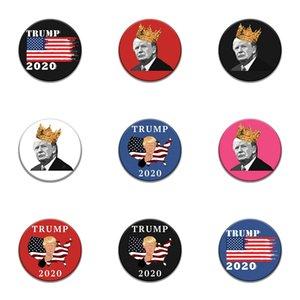 Introverti émail Pin Noir Blanc Trump Badge Trop Peopley Vêtements Sac Broche épinglette Punk bijoux cadeau pour les introvertis Amis # 293