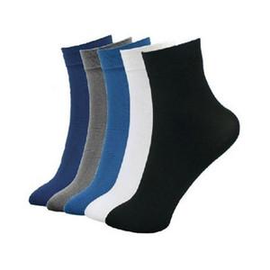 2 pair Großhandelsqualitäts-Männer Strümpfe ultra dünne Bambusfaser Geschäfts Socken Herren kühlen Polyester-Baumwolle Socken