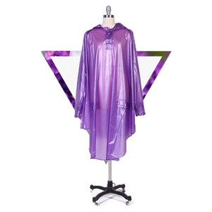Fashion Women Raincoat Thickened Waterproof Rain Poncho Coat Adult Clear Transparent Camping Hoodie Rainwear Suit