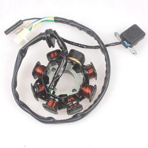 Зажигание Статор магнито 8 Катушка 5 Провода для GY6 50CC 80CC ATV 60cc самокат Taotao Paliden 150cc самокат