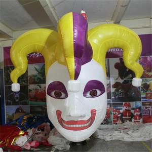 Customized hängender Luftzirkusclown aufblasbare Halloween böser aufblasbarer Medusa Clown Inflatable Teufel