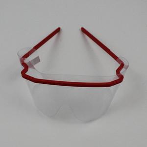DHL 배송 일회용 보호 안경 고글 안티 안개 먼지 증거 안티 - 충격 보호 고글 방진 야외 눈 유리 X210FZ
