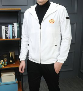 Flat Designer Jacket Men's Cloth With Zipper Casual Fashion Jacket Men's Clothing sell well zjy