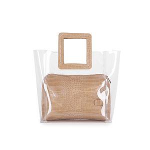 Дизайнер- Новые роскошные сумки Женские сумки Дизайнерская женская мода Прозрачная сумка из ПВХ Сумка Женская искусственная кожа Sac A Bolsas Feminina